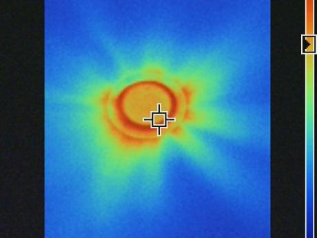 Infrared Image of Light